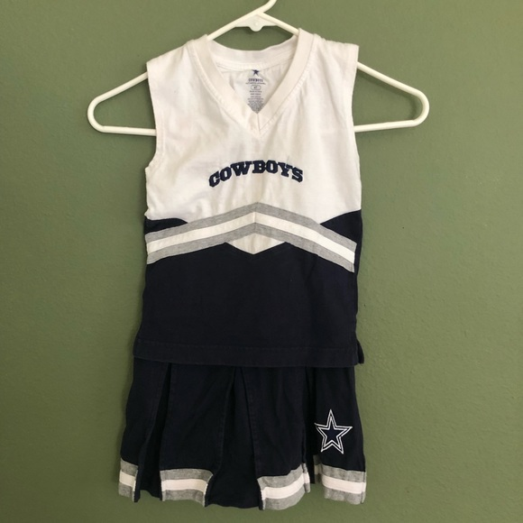 low priced 6cac3 5cf55 🏈Dallas Cowboys Toddler CheerLeader Outfit